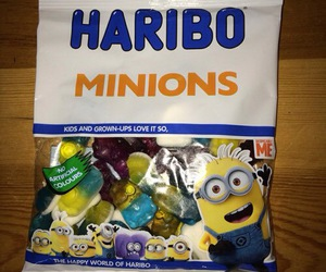 haribo and minions image