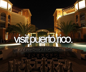 puerto rico and visit image