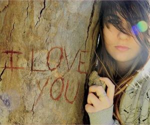 girl, I Love You, and love image