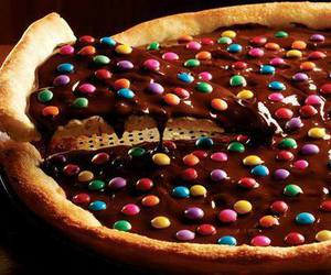 chocolate, pizza, and food image