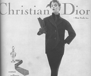 1950, Christian Dior, and Couture image