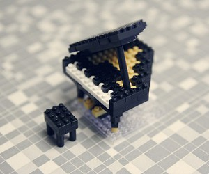 piano and lego image