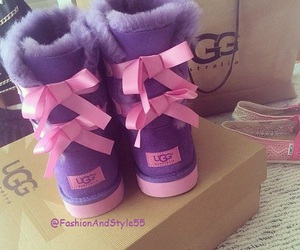 uggs, boots, and pink image