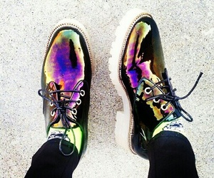 shoes, grunge, and cool image