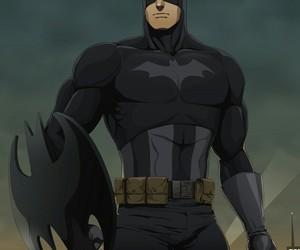 batman, captain america, and mashup image