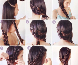 girls, hair do, and hair style image