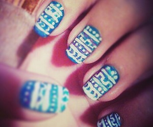 cool, design, and nails image
