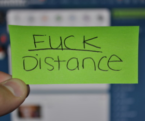 distance, fuck, and typography image