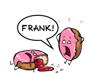 donuts, funny, and frank image