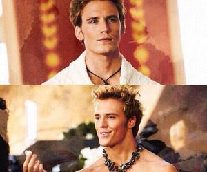 catching fire, finnick odair, and hunger games image