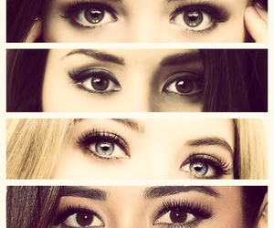 pll, eyes, and pretty little liars image