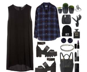 black, fashion, and mystyle image