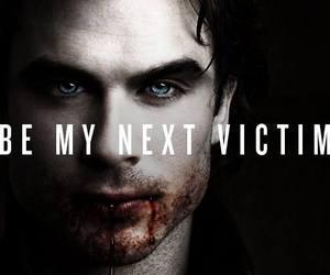 tvd, vampire, and damon image