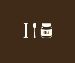 nutella, love, and food image