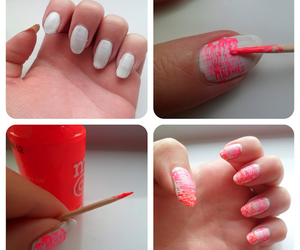 nails, tutorial, and nailart image