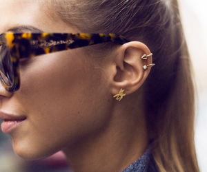 blogger, earrings, and fashionista image