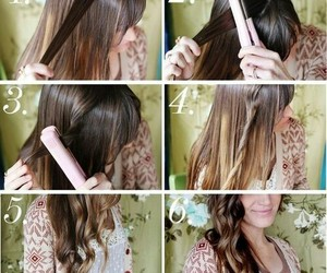 curls, Easy, and diy image