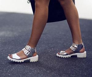 fashion, lisa, and silver image