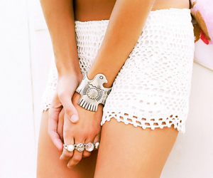fashion, rings, and white image