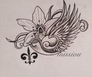 tattoo, beautiful, and drawing image