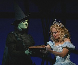 witch, broadway, and glinda image