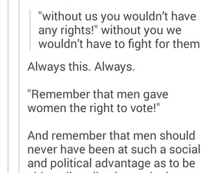 feminism, men, and rights image