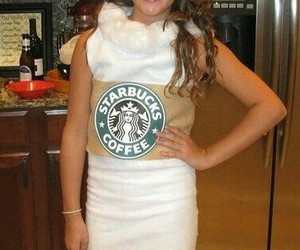 custome, diy, and starbucks image