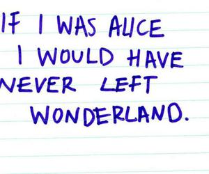 alice, wonderland, and quote image