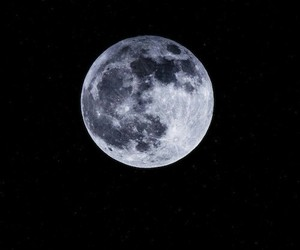 moon, perfect, and sky image