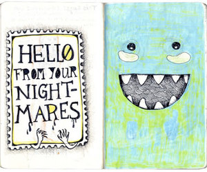 hello, monster, and nightmares image