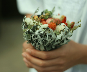 bouquet, plants, and organic image