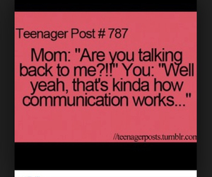 mom, teenager, and teenager post image