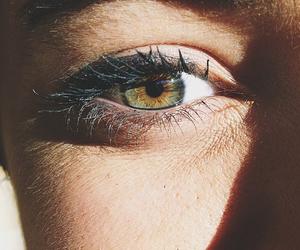 brown, cool, and eye image