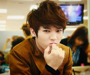 infinite, woohyun, and kpop image