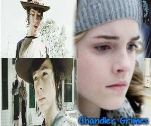 the walking dead, wattpad, and chandler riggs image
