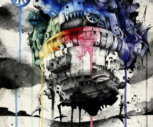 howl's moving castle, Howl, and art image