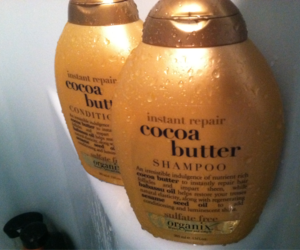 beauty, organix, and cocoa butter image