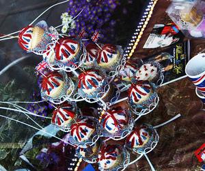 brighton, union jack, and cupcakes image