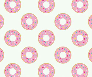 background, donut, and wallper image