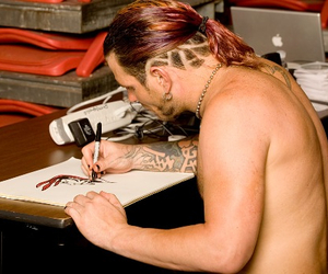 artist, hardy, and WWF image