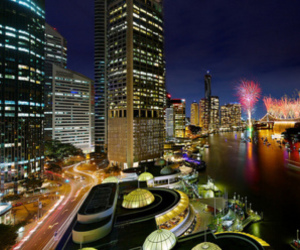 australia, riverfire, and brisbane image