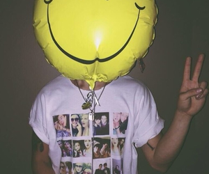 grunge, smile, and happy image
