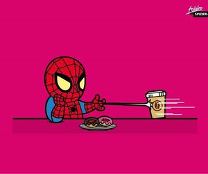 lol and spiderman image
