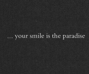 love, paradise, and smile image