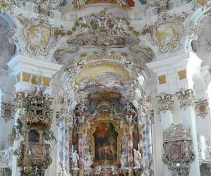 baroque, church, and kitsch image