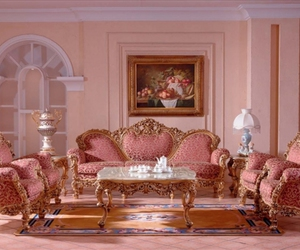 baroque, pink, and rococo image