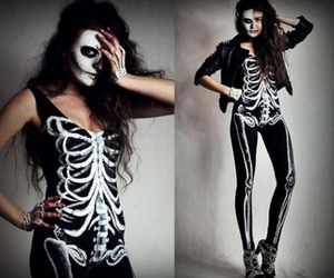 Halloween and skeleton image