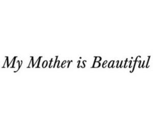 love, beautiful, and mom image