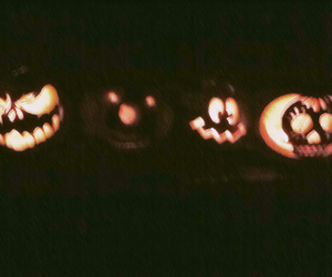 Halloween, pumpkins, and scary image