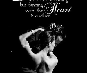 dancing, quote, and woman image